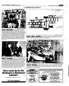 Syracuse Post Standard, April 14, 2005, Page 149