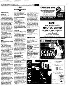 Syracuse Post Standard, April 14, 2005, Page 105