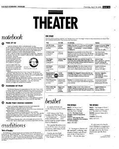 Syracuse Post Standard, April 14, 2005, Page 87