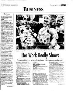Syracuse Post Standard, April 14, 2005, Page 209