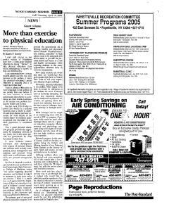 Syracuse Post Standard, April 14, 2005, Page 107