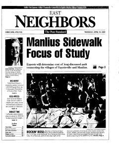 Syracuse Post Standard, April 14, 2005, Page 91