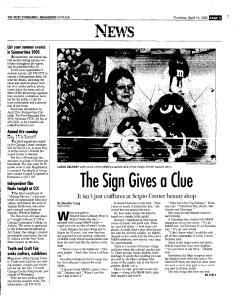 Syracuse Post Standard, April 14, 2005, Page 340