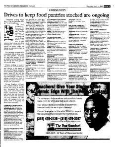 Syracuse Post Standard, April 14, 2005, Page 342