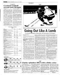 Syracuse Post Standard, April 16, 2005, Page 22
