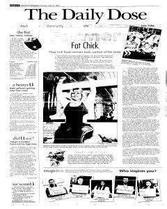 Syracuse Post Standard, April 21, 2005, Page 44