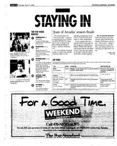 Syracuse Post Standard, April 21, 2005, Page 82