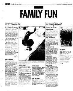 Syracuse Post Standard, April 21, 2005, Page 84