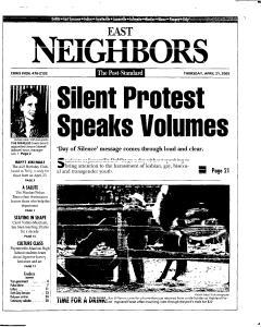 Syracuse Post Standard, April 21, 2005, Page 87