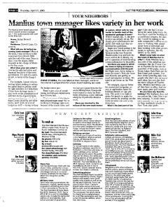 Syracuse Post Standard, April 21, 2005, Page 88