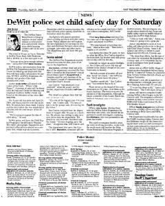 Syracuse Post Standard, April 21, 2005, Page 94