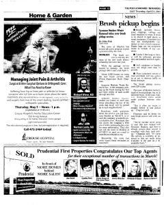 Syracuse Post Standard, April 21, 2005, Page 98