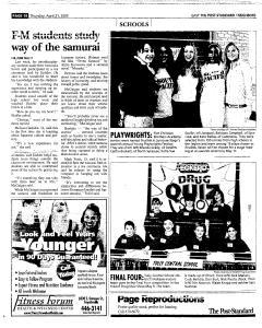 Syracuse Post Standard, April 21, 2005, Page 104
