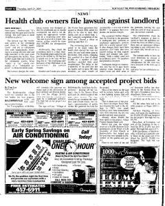 Syracuse Post Standard, April 21, 2005, Page 134