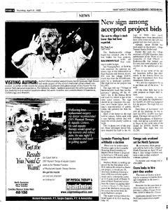 Syracuse Post Standard, April 21, 2005, Page 168