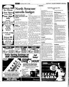 Syracuse Post Standard, April 21, 2005, Page 174