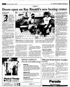 Syracuse Post Standard, April 21, 2005, Page 206