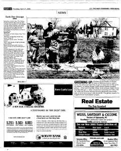 Syracuse Post Standard, April 21, 2005, Page 212