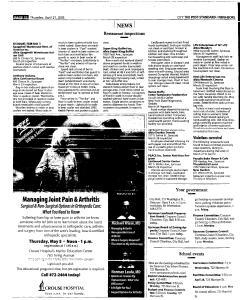Syracuse Post Standard, April 21, 2005, Page 214