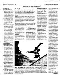 Syracuse Post Standard, April 21, 2005, Page 222