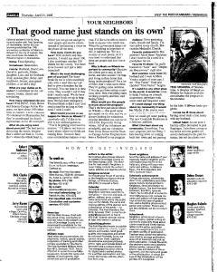 Syracuse Post Standard, April 21, 2005, Page 232