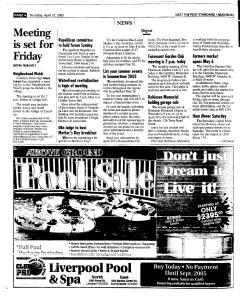 Syracuse Post Standard, April 21, 2005, Page 234