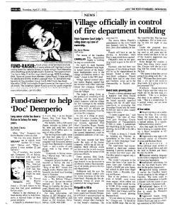Syracuse Post Standard, April 21, 2005, Page 238