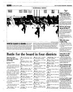 Syracuse Post Standard, April 21, 2005, Page 254