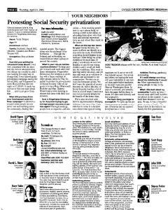 Syracuse Post Standard, April 21, 2005, Page 334