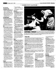 Syracuse Post Standard, April 21, 2005, Page 342