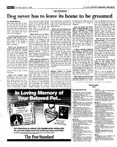 Syracuse Post Standard, April 21, 2005, Page 350