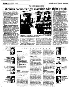 Syracuse Post Standard, April 21, 2005, Page 354