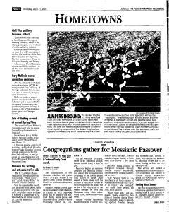 Syracuse Post Standard, April 21, 2005, Page 374