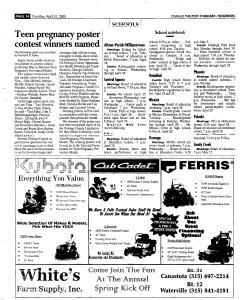 Syracuse Post Standard, April 21, 2005, Page 382