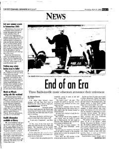 Syracuse Post Standard, April 21, 2005, Page 125