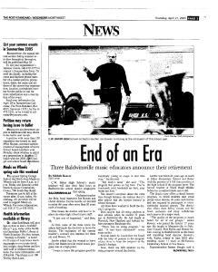 Syracuse Post Standard, April 21, 2005, Page 165