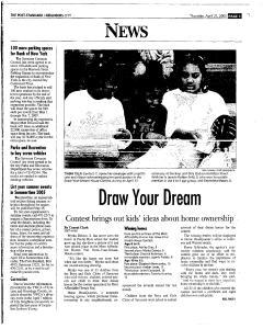 Syracuse Post Standard, April 21, 2005, Page 205