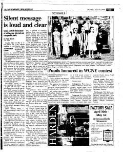 Syracuse Post Standard, April 21, 2005, Page 107