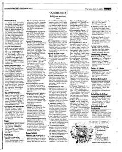 Syracuse Post Standard, April 21, 2005, Page 263