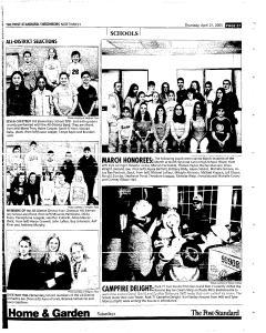 Syracuse Post Standard, April 21, 2005, Page 189