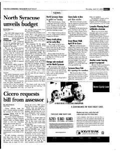 Syracuse Post Standard, April 21, 2005, Page 129
