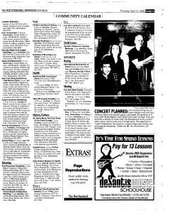 Syracuse Post Standard, April 21, 2005, Page 361
