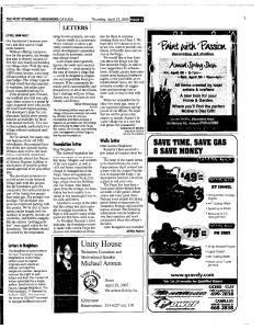 Syracuse Post Standard, April 21, 2005, Page 341