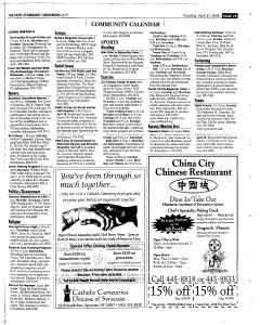Syracuse Post Standard, April 21, 2005, Page 227