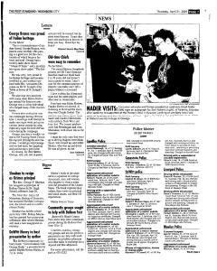 Syracuse Post Standard, April 21, 2005, Page 209