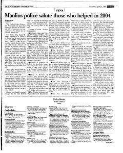 Syracuse Post Standard, April 21, 2005, Page 93