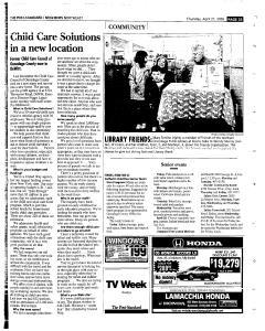 Syracuse Post Standard, April 21, 2005, Page 155
