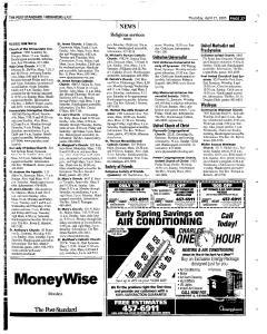 Syracuse Post Standard, April 21, 2005, Page 113