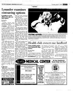 Syracuse Post Standard, April 21, 2005, Page 133
