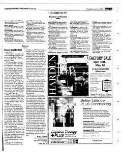 Syracuse Post Standard, April 21, 2005, Page 367